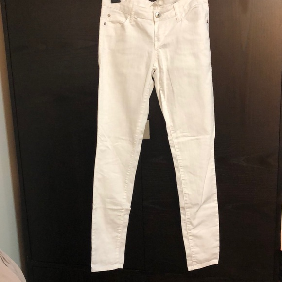 Forever 21 Denim - White denim pants
